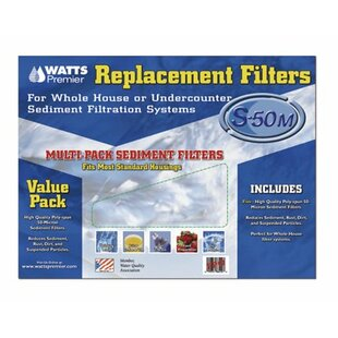 Watts Premier 5 Piece Whole House Replacement Filters Set