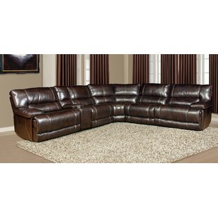 Boomery 135 Symmetrical Reclining Sectional Set of 6