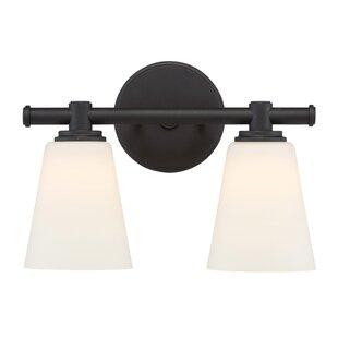 Krout 2-Light Vanity Light by Charlton Home