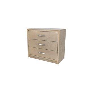 Akin Vanguard 3 Drawer Dresser