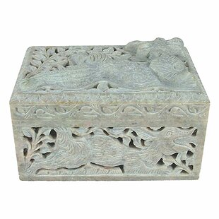 Clearance Winged Dragon Jewelry Box By Novica