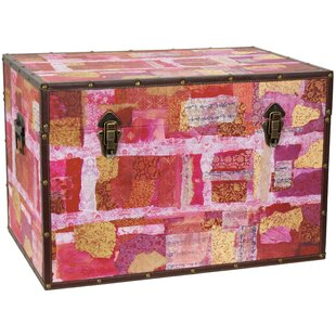 Avant Garde Collage Trunk by Oriental Furniture