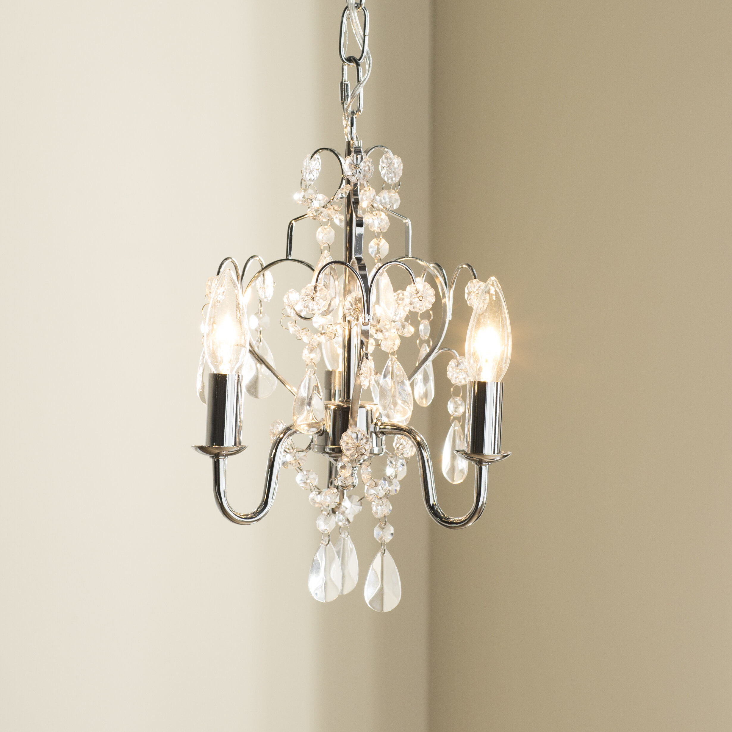 House Of Hampton Dagnall 3 Light Candle Style Chandelier Reviews Wayfair