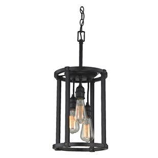 Williston Forge Jeromy 3-Light Cylinder Pendant