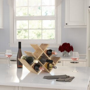 Varela 8 Bottle Tabletop Wine Rack by Fle..