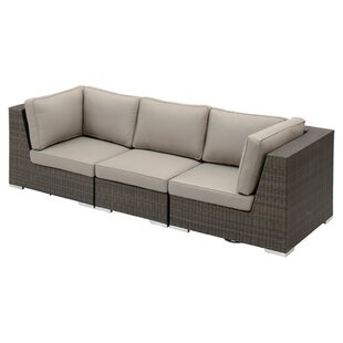 Jeffan Carter Rattan Sectional Sofa with ..