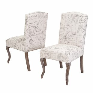 LaSalle Upholstered Dining Chair (Set of 2) by Lark Manor