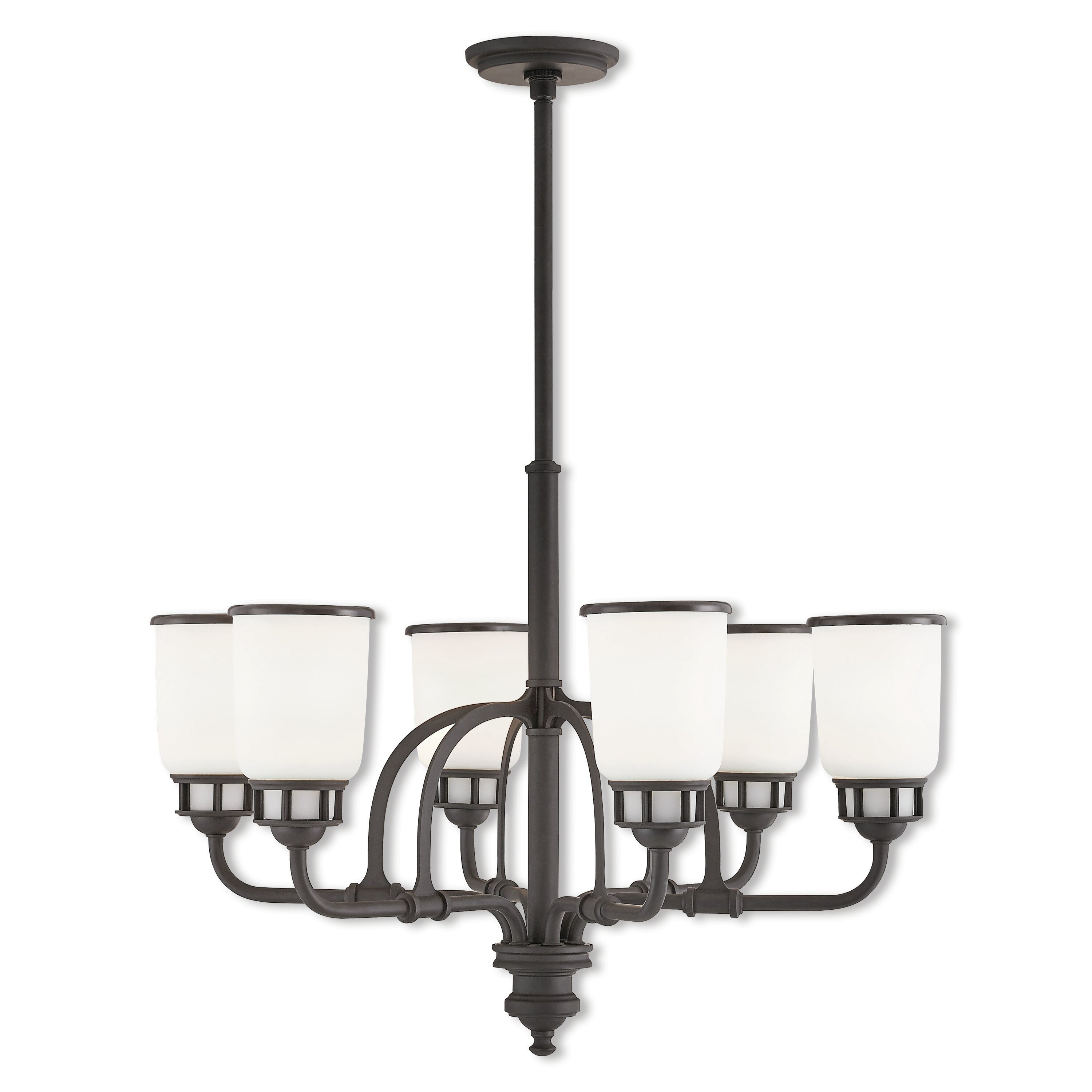 Frew 6 Light Shaded Classic Traditional Chandelier Birch Lane