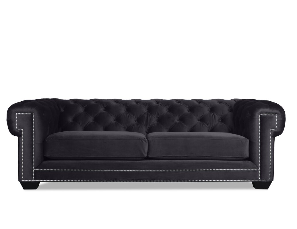 Chesterfield sofa weiss  South Cone Home Alexander Chesterfield Sofa & Reviews | Wayfair