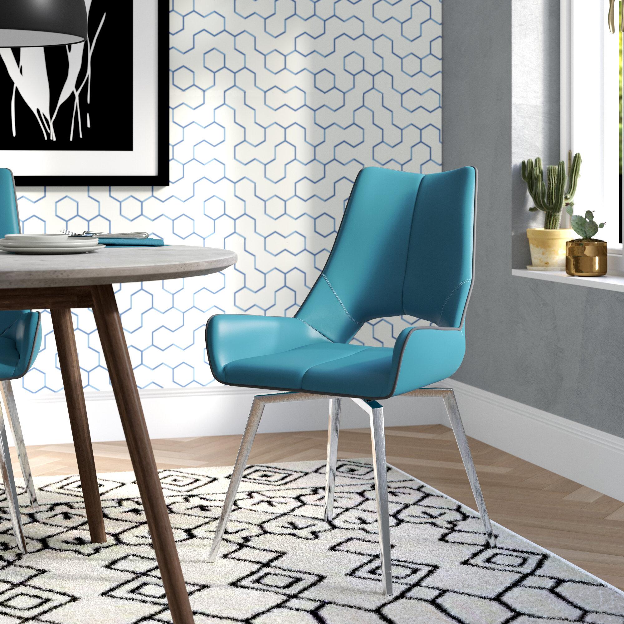 Brayden Studio Kimbell Bucket Upholstered Dining Chair & Reviews ...
