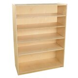 49 W Solid Wood Standard Bookcase by Wood Designs