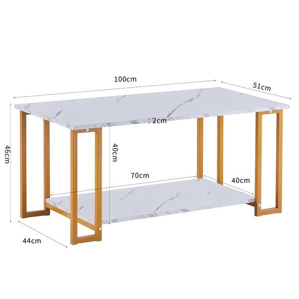 Mercer41 Tinney Coffee Table With Storage Wayfair