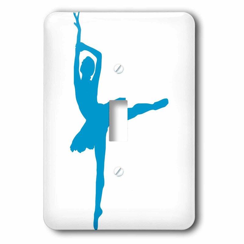 3drose Ballet Dancer 1 Gang Toggle Light Switch Wall Plate Wayfair