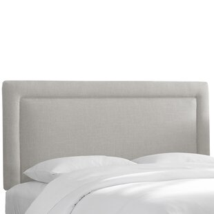 Wrought Studio Cygni Upholstered Panel Headboard