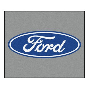 Savings Ford - Ford Oval Tailgater Mat By FANMATS