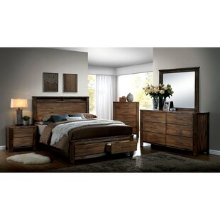 Harmsworth Platform Configurable Bedroom Set by Andrew Home Studio Amazing