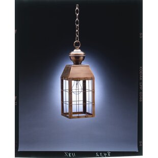 Northeast Lantern Woodcliffe 1-Light Outdoor Hanging Lantern