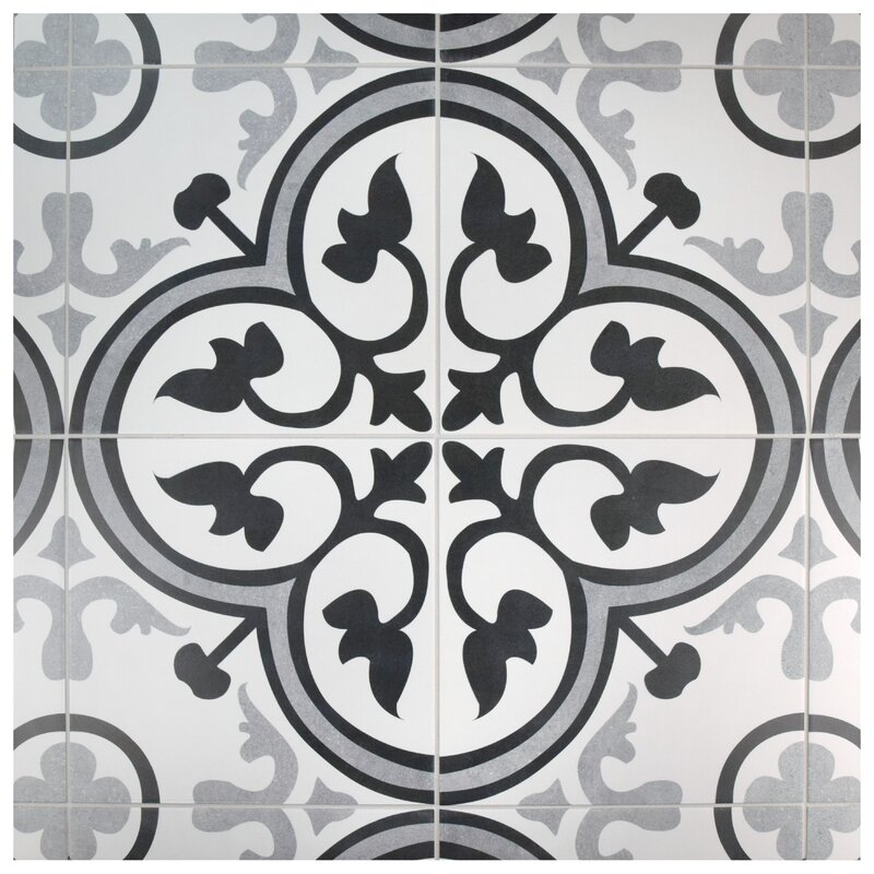 Elitetile Mora Classic 12 38 Quot X 12 38 Quot Ceramic Field Tile
