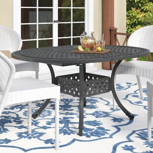 Fleur De Lis Living Brownell Outdoor Expandable Dining Table
