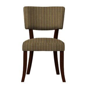 Larochelle Brown Stripe Side Chair (Set o..