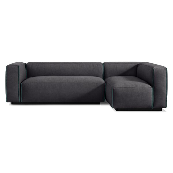 Modern & Contemporary Mod Leather Modular Sofa   AllModern