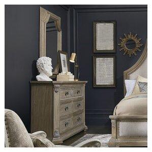 Carolin 6 Drawer Dresser w..