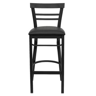 Buy clear Barker Series 31 Bar Stool By Red Barrel Studio