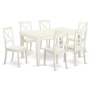 Septimus 7 Piece Solid Wood Dining Set