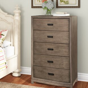 Price Check Hunziker 5 Drawer Chest By Greyleigh
