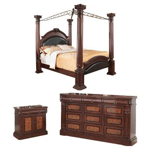 Noemi Canopy Configurable Bedroom Set by Fleur De Lis Living New