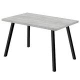 Kaylum Metal Dining Table by Ebern Designs