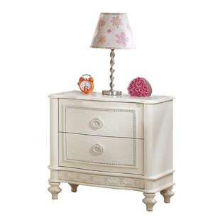 Reviews Bo Ivory 2 Drawer Nightstand by Rosdorf Park Reviews (2019) & Buyer's Guide