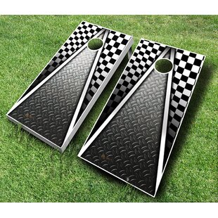 AJJ Cornhole 10 Piece Racing Cornhole Set