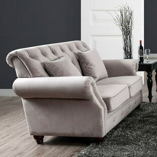 Inexpensive Parham Modern Victorian Loveseat by Canora Grey Reviews (2019) & Buyer's Guide