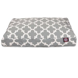 Trellis Rectangular Pillow Pet Bed