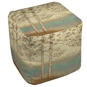 Golden Birch 2 Ottoman by Manual Woodworkers..