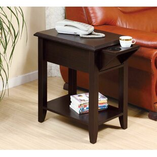 Tollett Chairside End Table wi..