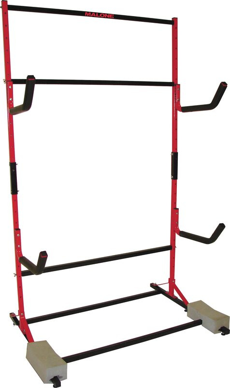 FS Rack System 3 Kayak Storage Freestanding Kayak Rack