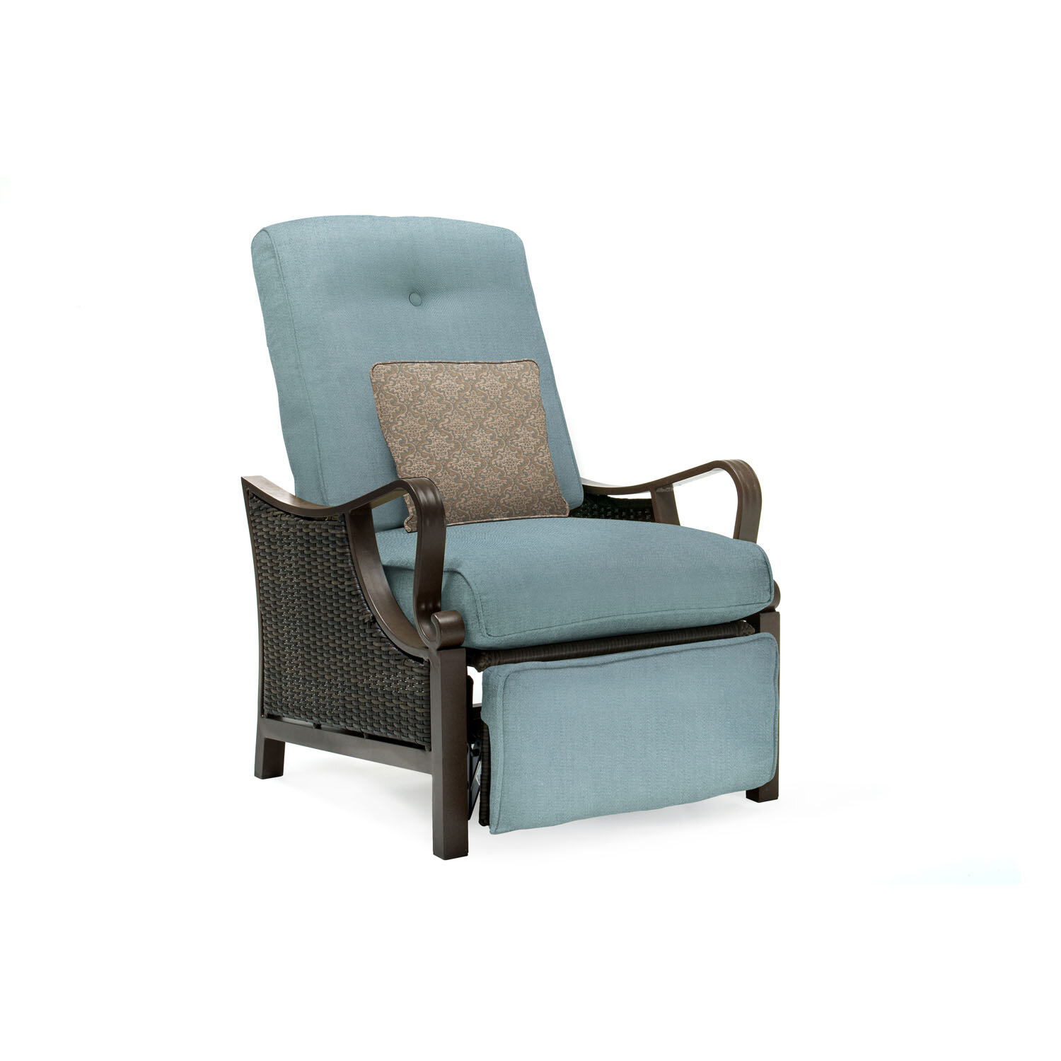 Three Posts Sherwood Luxury Recliner Chair with Cushions & Reviews ...