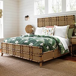Tommy Bahama Home Twin Palms Panel Bed