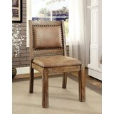 Dustin Upholstered Side Chair in Natural (Set of 2) by One Allium Way®