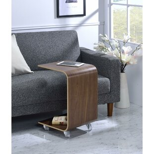 Buy clear Drews Bentwood End Table By George Oliver