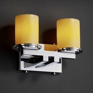 Loon Peak Rieves Straight 2-Light LED Vanity Light