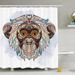 Aguilar African Tribal Totem Shower Curtain Set