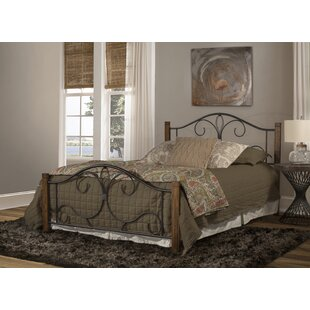 Fleur De Lis Living Claunch Panel Bed