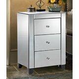 Jovan 3 Drawer Nightstand by House of Hampton®