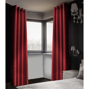 Red Dining Room Curtains Wayfair