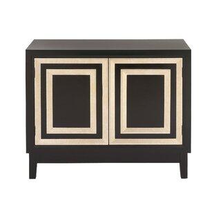 Cole & Grey 2 Door Wood Accent Cabinet