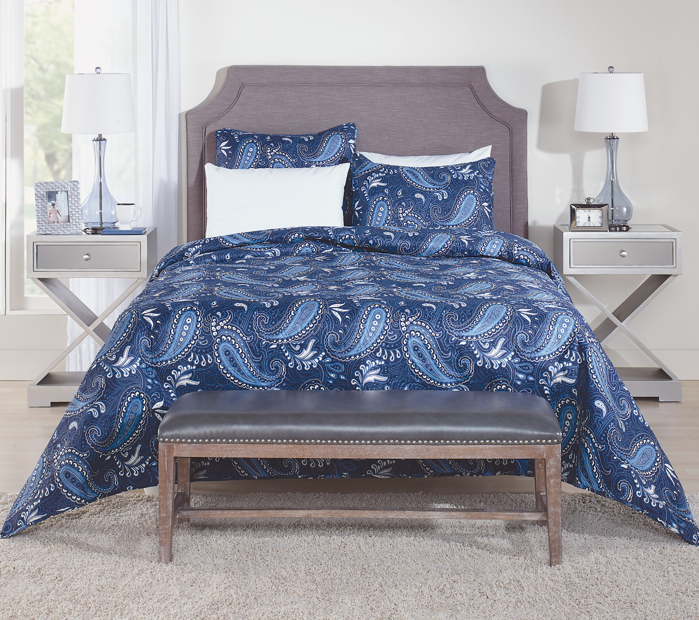 Paisley Throw Blanket Quilts Coverlets Sets You Ll Love In 2021 Wayfair