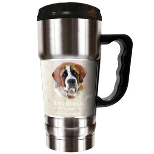 Howard Robinson's Saint Bernard 20 oz. Stainless Steel Travel Tumbler
